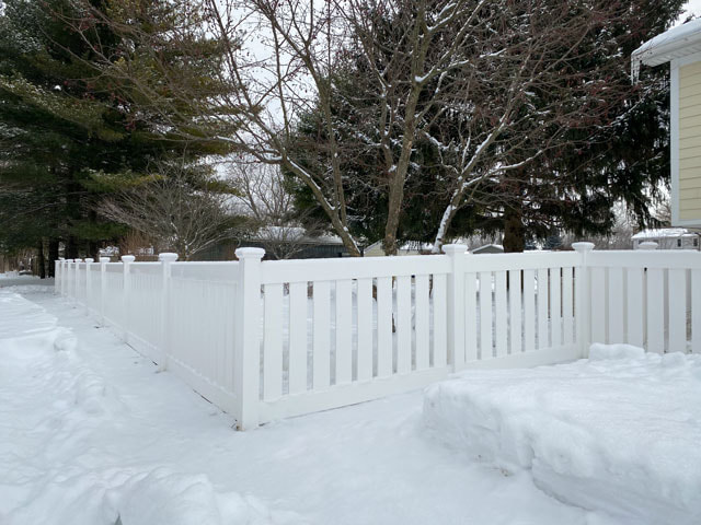 Vinyl Fence Installed in Naperville